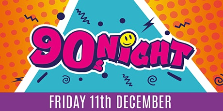90s Night - Christmas Party Night tickets