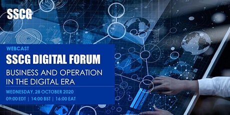 SSCG Digital Forum - Business and Operation in the Digital Era tickets