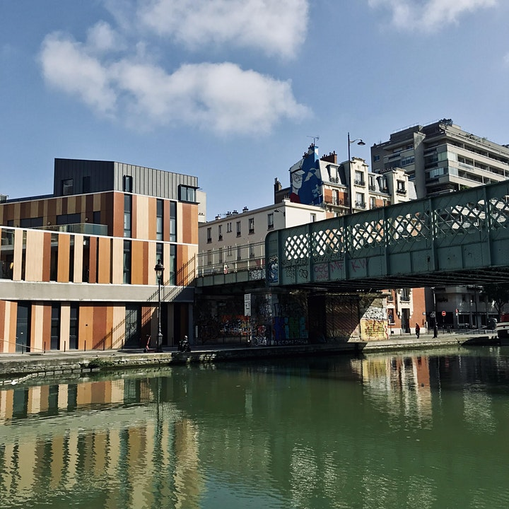 Image pour Croisière piétonne le long du Canal St-Denis