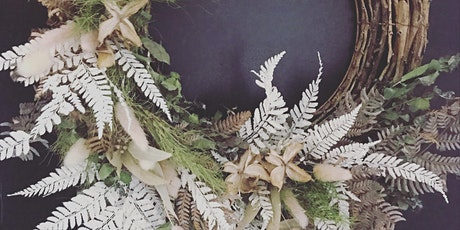 Everlasting Native Christmas Wreath workshop at BARbotanica Erina tickets
