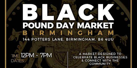 Black Pound Day Market November tickets