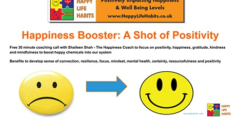 HLH Happiness Booster: A Shot of Positivity webinar tickets