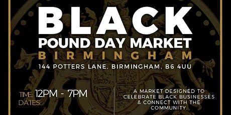 Black Pound Day Market December tickets