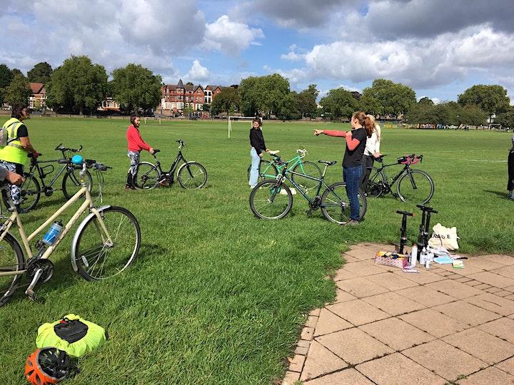 Women's Basic Bike Maintenance in the Park image