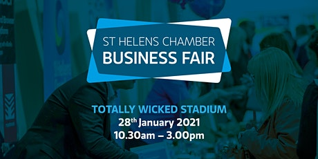 St Helens Chamber Business Fair - exhibition stands tickets