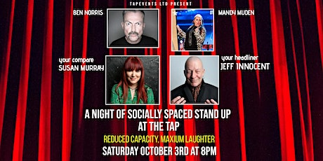 A Night of Socially Spaced Stand Up at The Tap tickets