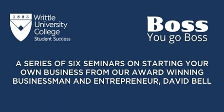 You go Boss WUC Seminar Series (Starting and Building your Business) tickets
