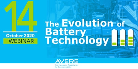 Webinar: The Evolution of Battery Technology tickets