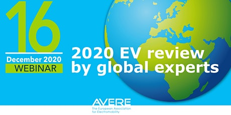 Webinar: 2020 EV Review by Global Experts tickets