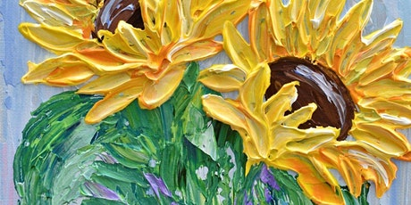 Botanical Palette Knife Painting tickets
