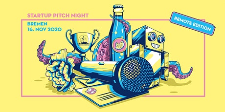 Startup Pitch Night Bremen - Remote Edition tickets