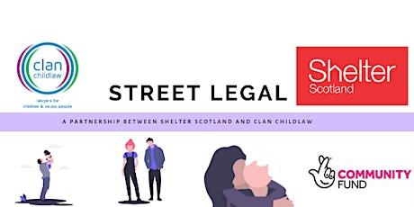 Street Legal workshop: defending evictions - private tenancies tickets