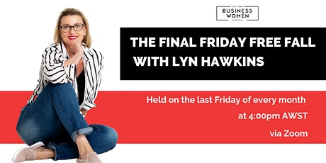 Online, Friday Free Fall: At Home with Lyn Hawkins tickets