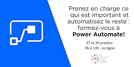 Webinaire Power Automate tickets