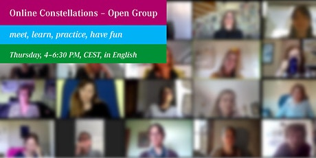 Online Constellations – Open Group Tickets
