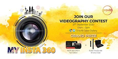 My Insta 360 Videography Contest @ Gravit8 Mitraland tickets