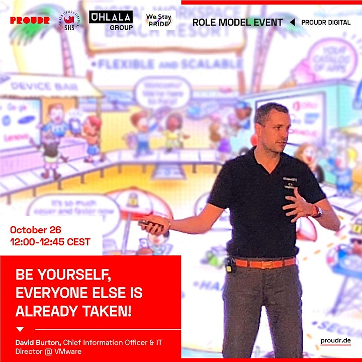 Role Model Event: Be yourself, everyone else is already taken!: Bild