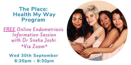 FREE Online Endometriosis Information Session with Dr Joshi tickets