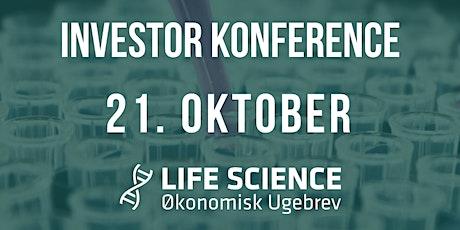 Life Science Investor Konferencer 21.oktober 2020 tickets