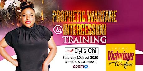 Global Prophetic Warfare & Intercession Training tickets