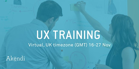 User Experience (UX) Certification & Courses - Live, online (GMT)- Nov 2020 tickets