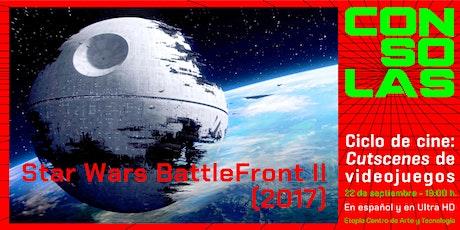Ciclo Cutscenes de videojuegos: Star Wars BattleFront II entradas