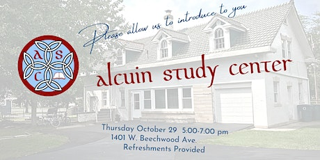 Introducing Alcuin Study Center tickets