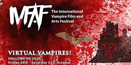 Virtual VampFest Hallowe'en: The International Vampire Film & Arts Festival tickets