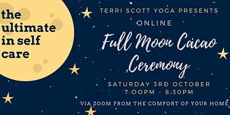 Online Full Moon Cacao Ceremony tickets