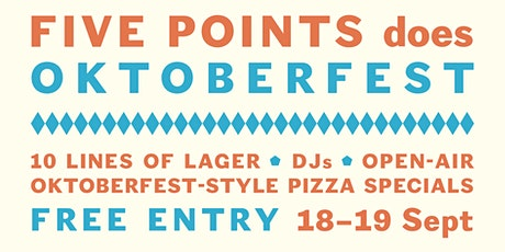 Five Points does Oktoberfest | Mare Street Taproom tickets