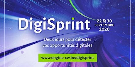 DigiSprint : 2 jours pour détecter vos opportunités digitales tickets