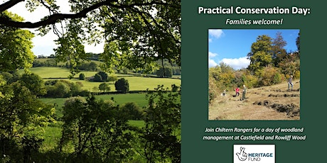 Practical Conservation with Chiltern Rangers: Families Welcome tickets