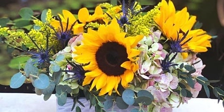 SUNFLOWER LOVE!   Fall Floral Workshop at Harvest Thyme Tavern tickets
