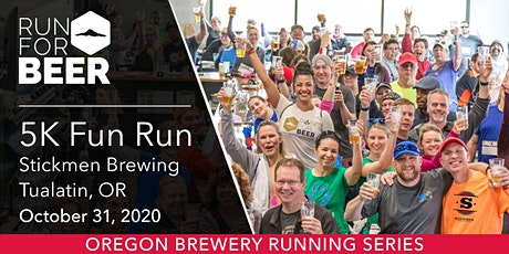Stickmen Brewing 5k Fun Run tickets