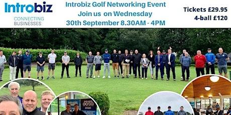 Introbiz Business Golf Event At The Vale Resort - September tickets