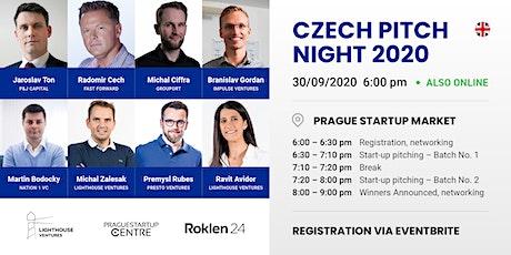Czech Pitch Night 2020 tickets