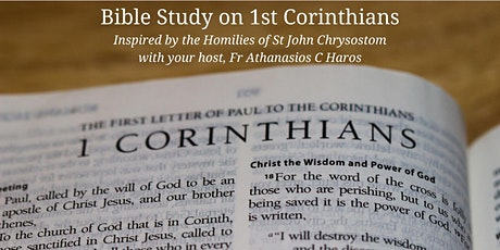 LIVESTREAM Bible Study on First Corinthians tickets