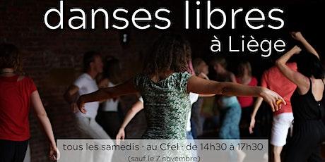 ANIMA danse libre du vivant® à Liège billets