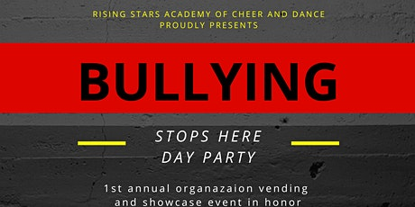 Stop Bullying Vending and Showcase Day Party tickets