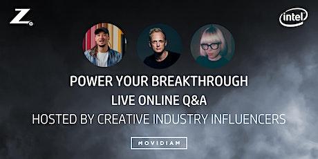 Power Your Breakthrough Live Q&A w/ Matthew Joseph, Nova Dando & Seb Thiel tickets