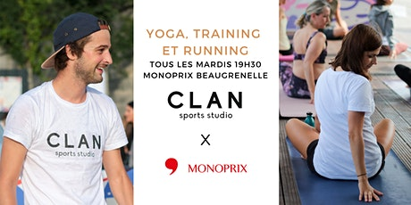Clan Run Club x Monoprix billets
