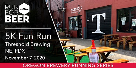 Threshold Brewing 5k Fun Run tickets