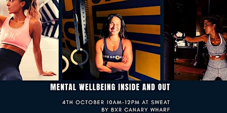 Lauren White and Yaz Garcia Presents: MENTAL WELL BEING INSIDE AND OUT. tickets