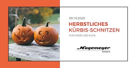 Herbstliches Kürbisschnitzen bei Hagemeyer Tickets