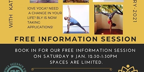 FREE Info Session- Yoga Teacher Training tickets