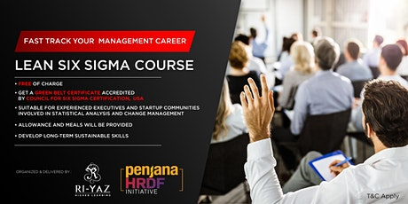 Level up Your Skills: Learn Lean Six Sigma tickets