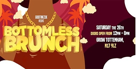 The GoodTimezUK Bottomless Brunch tickets