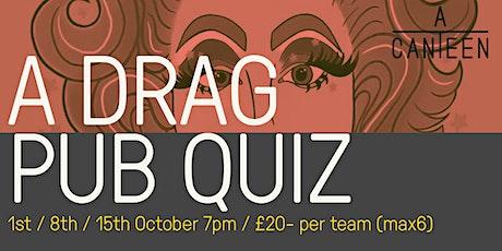 A DRAG PUB QUIZ - £20 per team tickets