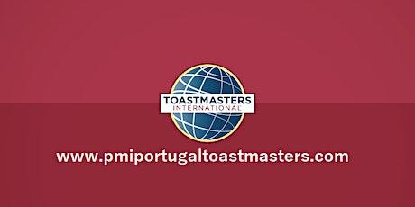 PMI Portugal Toastmasters | Sessão gratuíta | Anda de bibicleta no palco ingressos