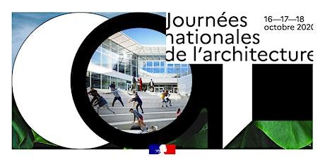 JOURNÉES NATIONALES DE L'ARCHITECTURE billets